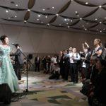 国際学会でオペラを歌う